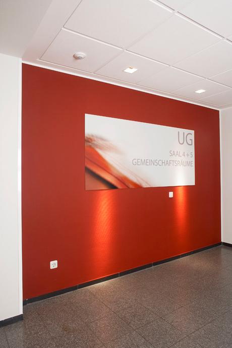 14_DRKMuenster_Seminarhotel_Flur_Orientierungssystem
